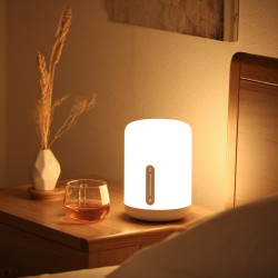 Bedside Lamp 2 16million colors Bluetooth Voice control White